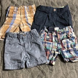 Set of 4- boys summer shorts